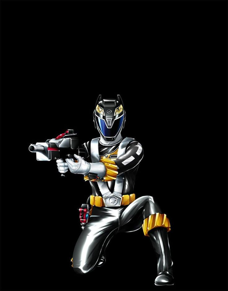 POWER RANGERS RPM - BLACK RANGER by DXPRO