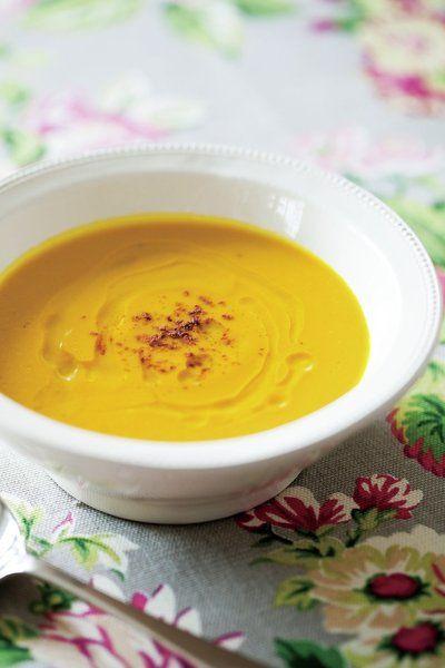 Recipe : かぼちゃのスープ/クリーミーなかぼちゃに、甘いココナッツの香り。 #Recipe #レシピ