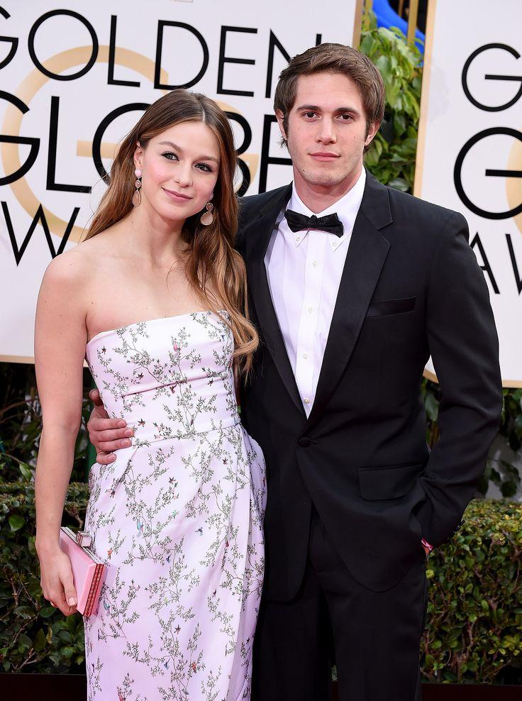 Melissa Benoist et Blake Jenner aux Golden Globes 2016