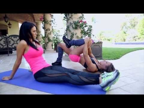 ▶ Full Body Exercise Circuit #6 with Jennifer Stano-David and Lauren Kern - YouTube