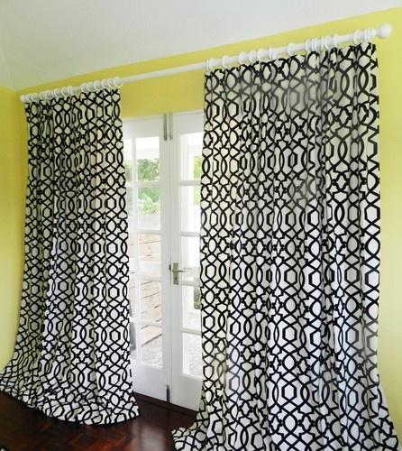 Sultana Velvet Lattice Drapes contemporary curtains-use fabric for valence