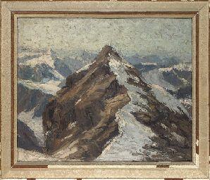Erich Mercker (German, 1891-1973) | A snowcapped mountain | 20th Century, Paintings | Christie's