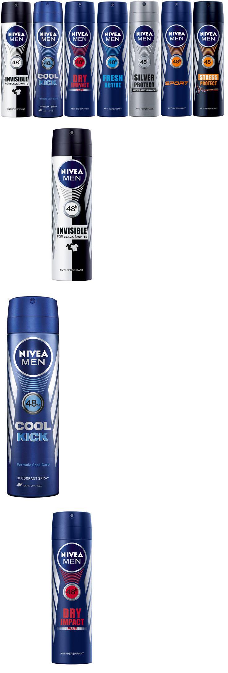 Deodorants and Antiperspirants: Nivea Men Deodorant Anti-Perspirant Spray 150Ml 5.07Oz -> BUY IT NOW ONLY: $50.99 on eBay!