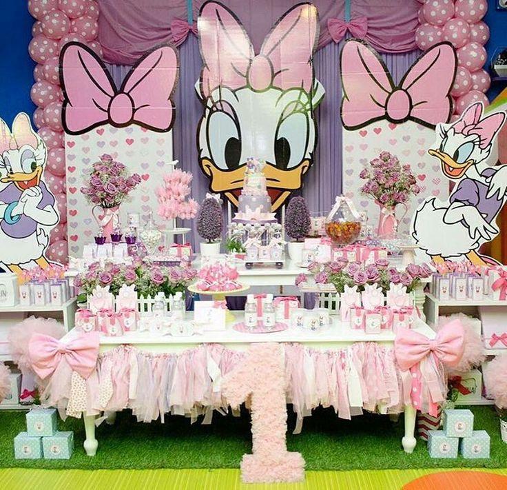 17 Mejores Ideas Sobre Fiesta De Daisy Duck En Pinterest