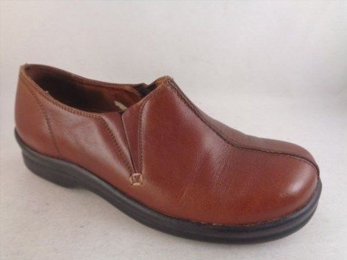 18.90$  Watch now - http://vicwv.justgood.pw/vig/item.php?t=9ulr0111125 - Footprints Birkenstock Women Size 38 Size 7N Narrow Brown Clogs Loafers a2
