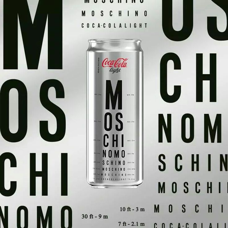 Coca Cola Light loves Moschino_2