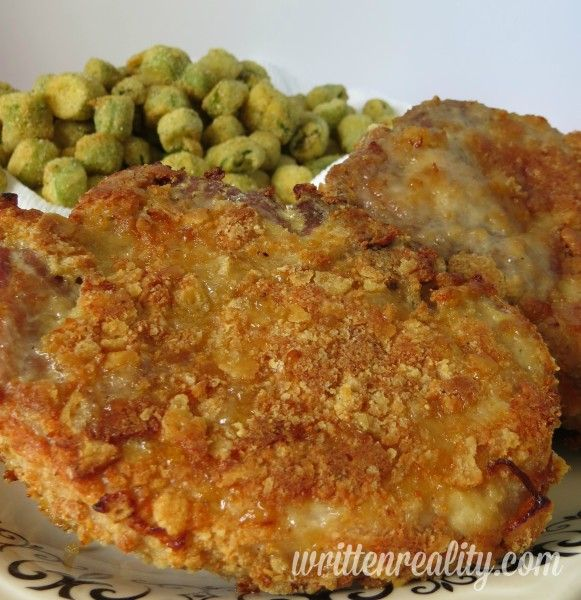 These Butter Crusted Parmesan Pork Chops are OUT OF THIS WORLD DELICIOUS!!