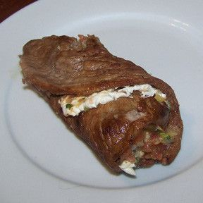 Steak wrap - easy meal idea. :-)