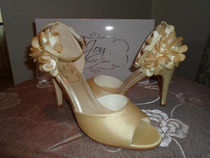 Gorgeous Katherine from Joy Bridal Shoes in Vintage Brown