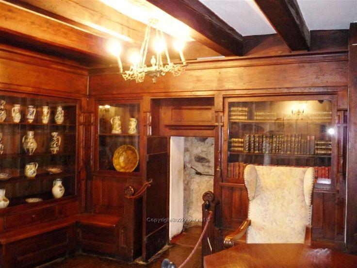 Room and secret door inside Dracula Castle | Secret ...