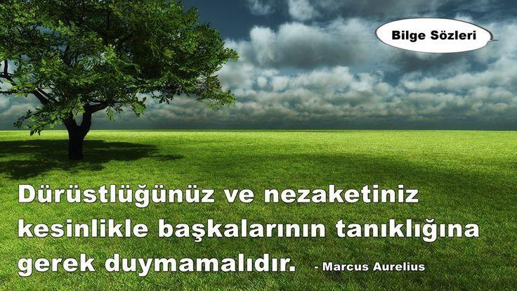 charming life pattern: Marcus Aurelius - alıntı - dürüstlük ve nezaketiniz ...