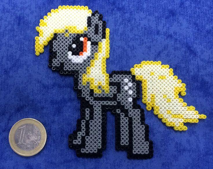 MLP Derpy Hama mini beads by Hamamia on deviantART