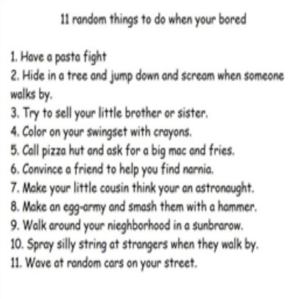 13 best things to do when your bored images on pinterest fun stuff fun things and funny things. Black Bedroom Furniture Sets. Home Design Ideas
