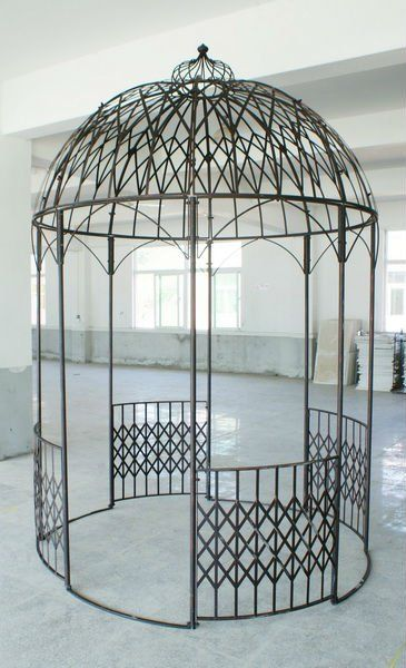 decorative wrought iron gazebo, View wrought iron gazebos for sale, Enjoygarden Product Details from Xiamen Enjoy Garden Art Company Limited on Alibaba.com