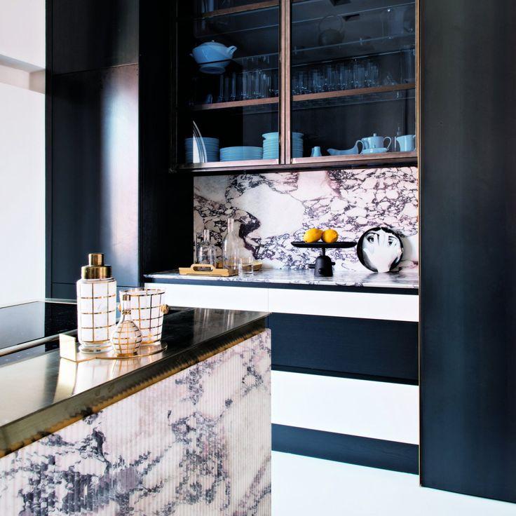 Une cuisine gravée dans le marbre – Marie Claire