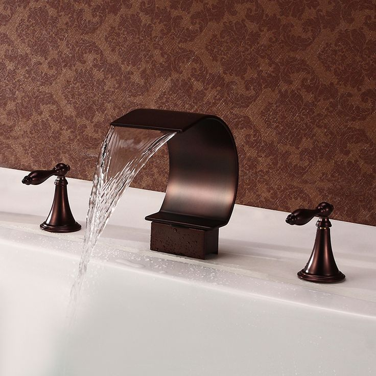 21 best Waterfall Faucets images on Pinterest | Waterfall faucet ...