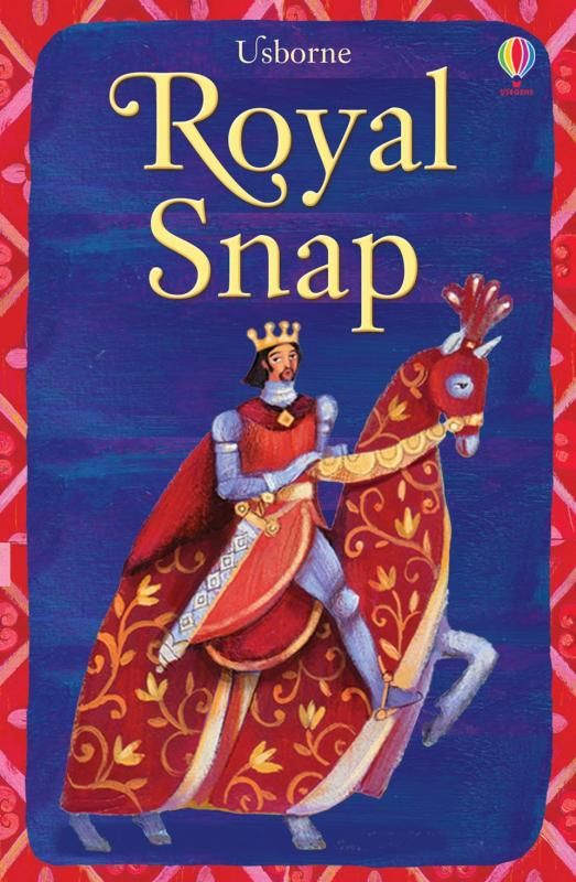 Royal snap est un jeu pour deux joueurs ou plus, richement illustré avec un prince, une princesse, le bouffon de la cour, le carrosse royal et plus. Il est adapté pour jouer au snap traditionnel, ainsi qu'aux jeux de mémoire.