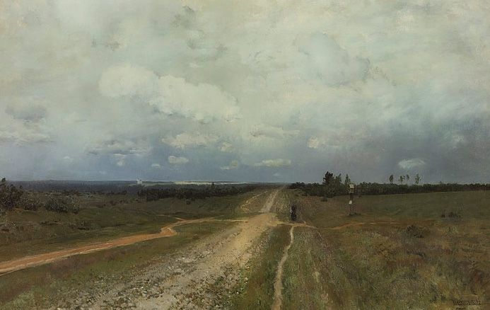 isaak levitan steppe painting | Painter of the Soul: Isaak Levitan