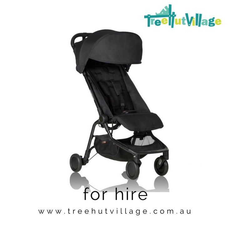 Mountain Buggy Stroller Hire   Hire a pram from other parents for your holiday   Click here to see baby equipment rental items including pram hire from Tree Hut Village.