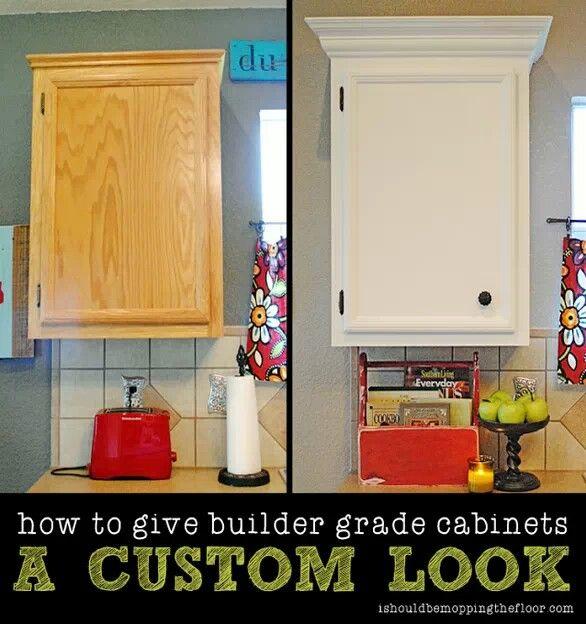 19 How To Do It Yourself Home Improvements. Custom CabinetsCustom ...