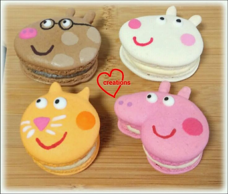 Loving Creations for You: Peppa Pig & Friends Assorted Macarons