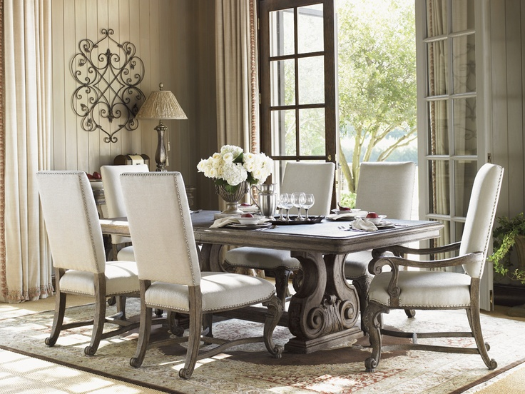 39 best images about dining room furniture on pinterest for Fine dining room furniture brands