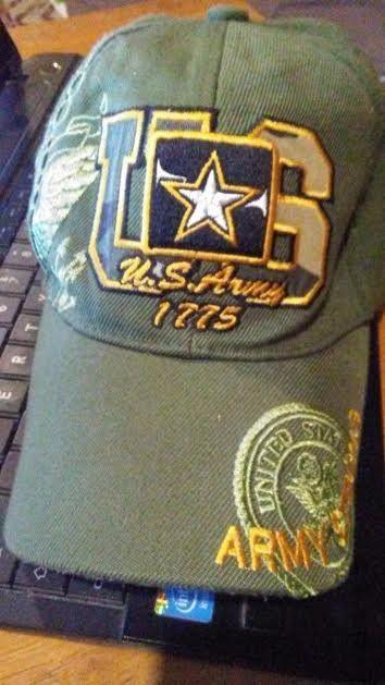 US ARMY STRONG LICENSED SEAL MILITARY LOGO green HAT CAP U.S. Warriors Army Hat #UnitedStatesArmy #BaseballCap