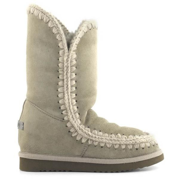 Mou Eskimo Wedge Tall Boots Corda - MOU #mou #fashion #newshoes #women #streetstyle