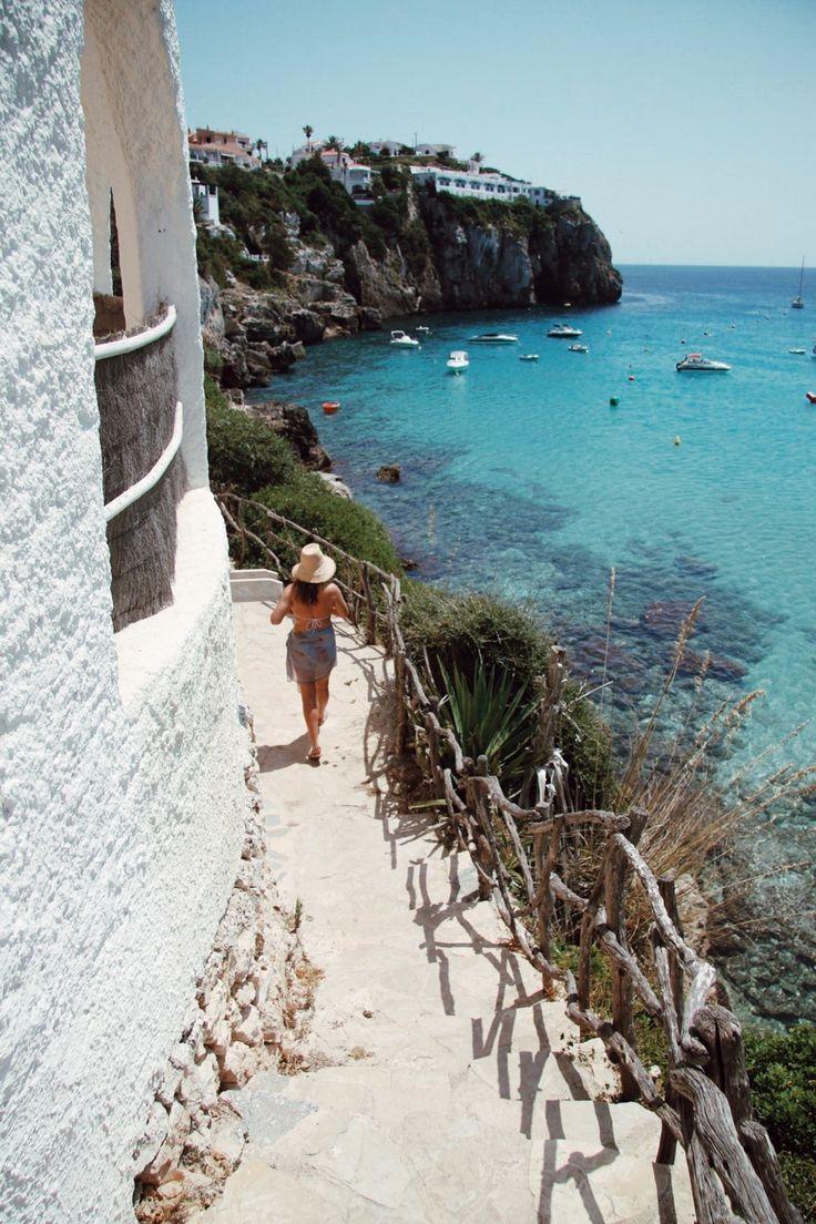 Cala En Porter, Menorca #boholover amberlair.com