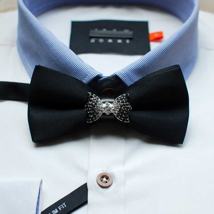 Мерлин Мерлин мода сплава горный хрусталь градиент свадебный галстук галстук горшок мода в Западной Европе партия подарок-Таобао