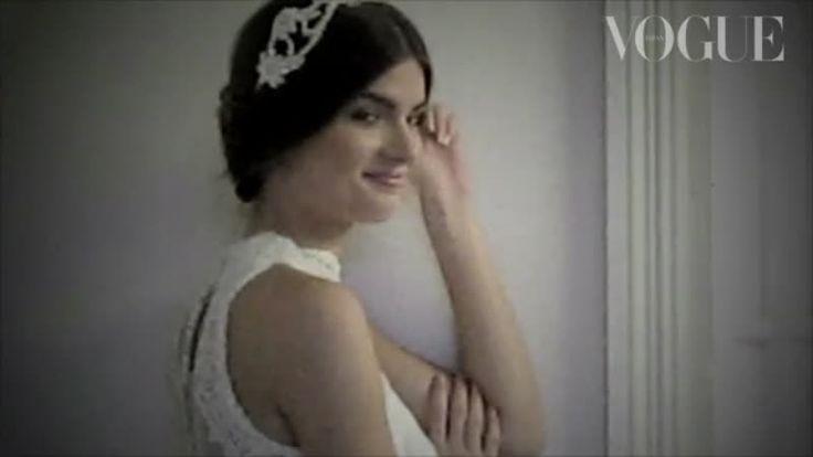 女神のように。 |WEDDING | VIDEO | VOGUE