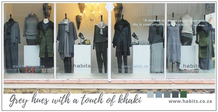 Gorgeous greys & classic khaki
