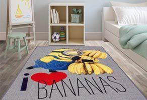 Kinderteppiche, wie Spielteppiche, Minions Teppiche, Star Wars oder Straßenteppiche günstig bestellen