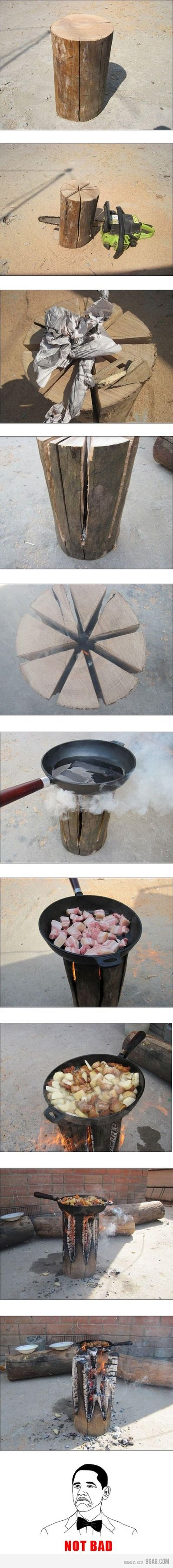 Build a stove.