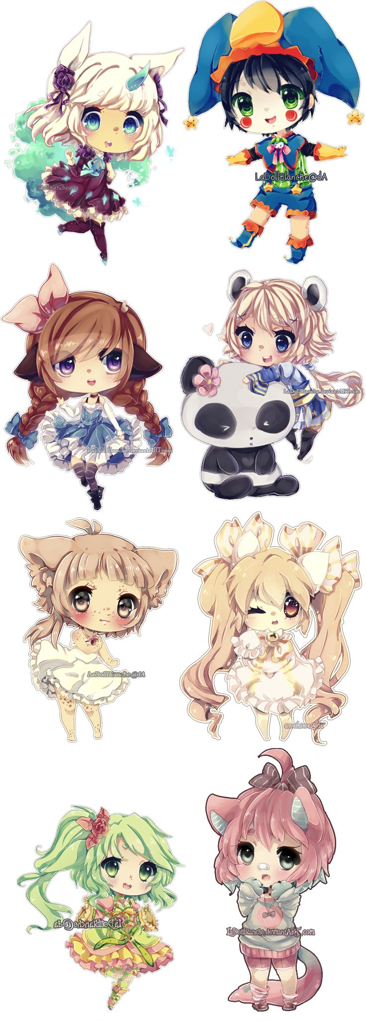 Chibi by LaDollBlanche
