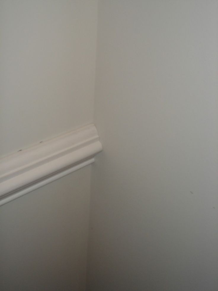 How to install chair rail moulding
