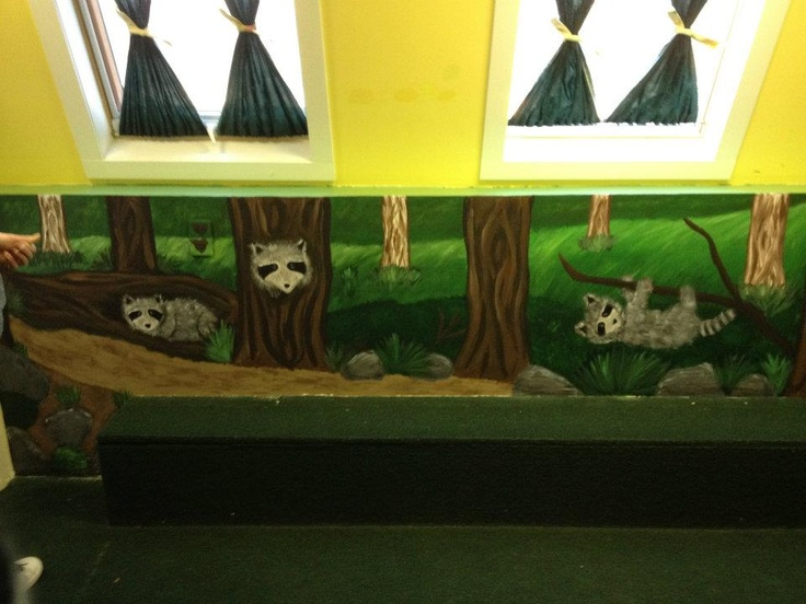 This mural was created for a daycare in St.Albert, thanks for looking!  Check out my page on facebook at Caught Your Eye Murals