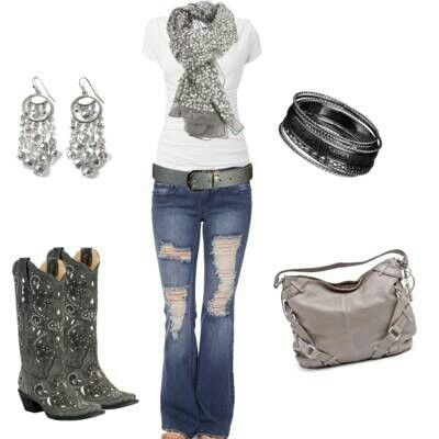 Cow girl with bling