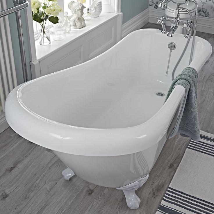 1000 id es sur le th me baignoire sur pieds sur pinterest. Black Bedroom Furniture Sets. Home Design Ideas