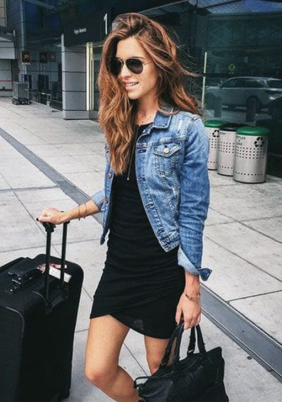 d6408cf0dc9 40 Stylish Denim Jacket Outfit Ideas for Spring