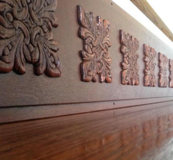 Carved Wood Stair Risers Stair Ideas Stamped Leather: Tribute Designs On Etsy Images