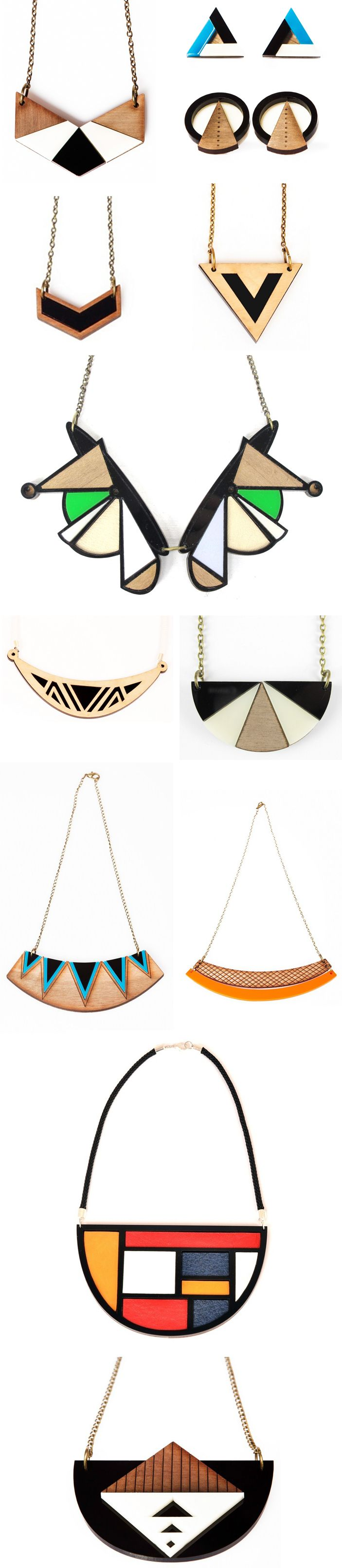 Ready for some more delicious statement jewellery? This gorgeous collection by independent jewellery label Nylon Sky was born out of a love for geometric pattern and laser-cutting,..and is proving …