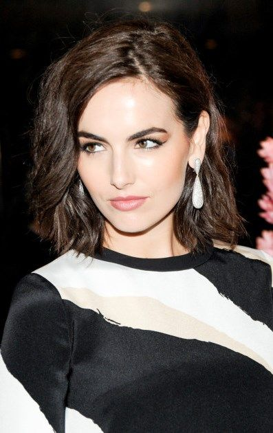 Camilla Belle in GUCCI | hair and make-up | bob cut