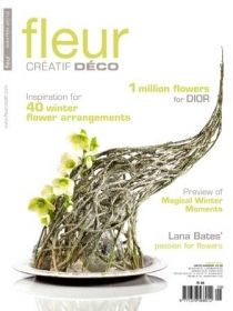 Fleur Creatif - Winter 2012 бельгийский журнал, на английском языке