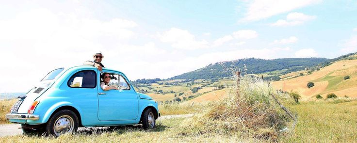 Vintage Touring in Tuscany on Family Vacation