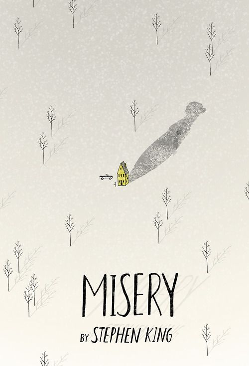 Misery        #book #covers #jackets #portadas #libros