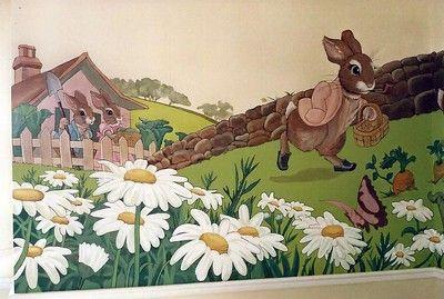Beatrix Potter-Peter Rabbit Nursery Murals (VIEW FULL PROJECT) - Tom Taylor