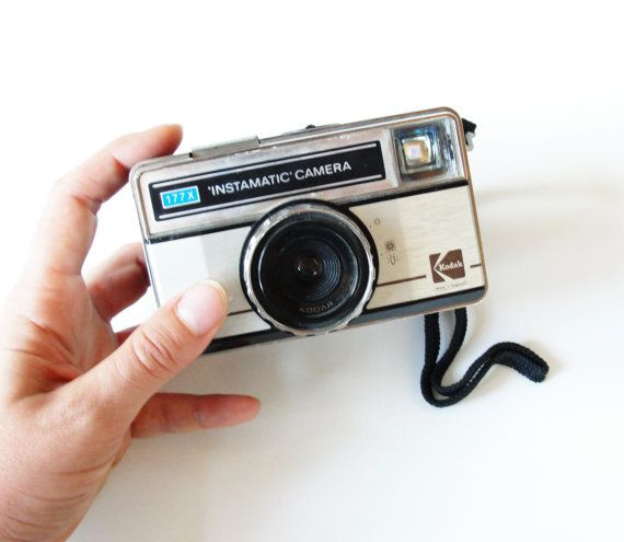 Vintage Kodak Instamatic camera 177x by StarofSupplies on Etsy, $20.00
