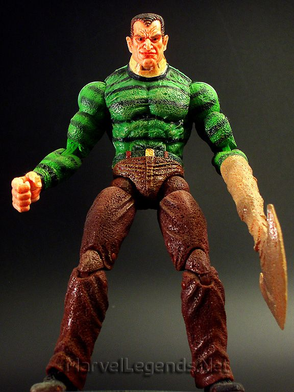 this is the toybiz Spider-Man Series 12 Sandman he is an ...