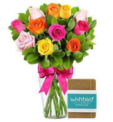 Alegra su día con Regalo Experiencia Wishbird y Rosas